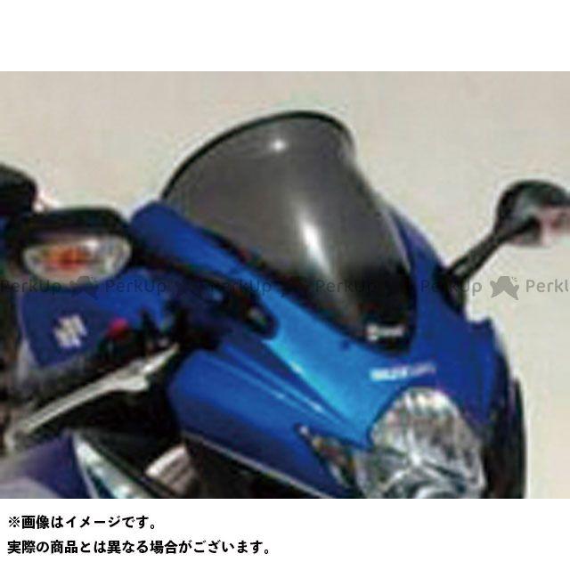 【エントリーで更にP5倍】ERMAX GSX-R600 GSX-R750 スクリーン関連パーツ スクリーン Bulles(スタンダードタイプ) 5cmロング クリアー アルマックス