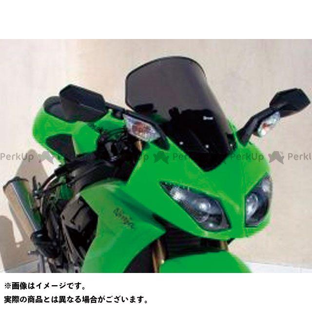 【エントリーで更にP5倍】ERMAX ニンジャZX-6R スクリーン関連パーツ スクリーン Bulles(スタンダードタイプ) 5cmロング カラー:スモーク アルマックス