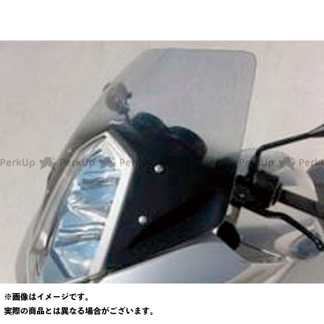 【エントリーで更にP5倍】ERMAX R1200ST スクリーン関連パーツ スクリーン Bulles(スタンダードタイプ) 10cmロング カラー:クリアー アルマックス