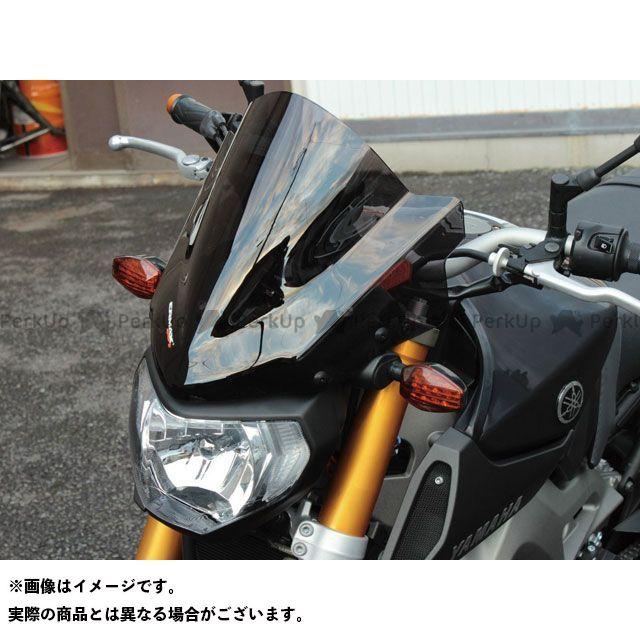 ERMAX MT-09 スクリーン関連パーツ Saute vent メーターバイザー カラー:クリアー アルマックス