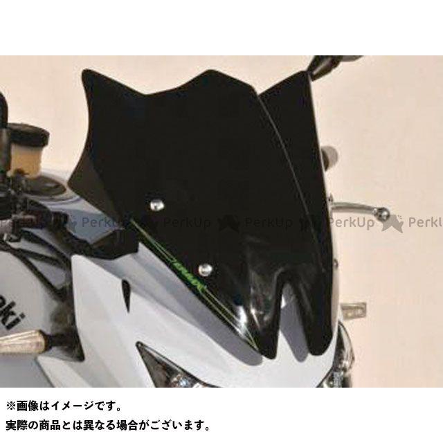 ERMAX Z750 スクリーン関連パーツ Saute vent メーターバイザー(スモーク) アルマックス