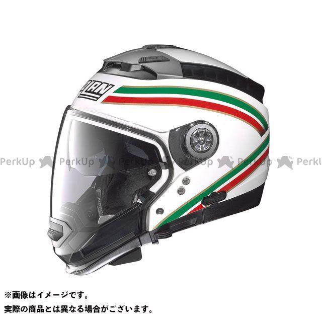 送料無料 NOLAN ノーラン システムヘルメット(フリップアップ) N44 イタリア メタルホワイト/21 S/55-56cm