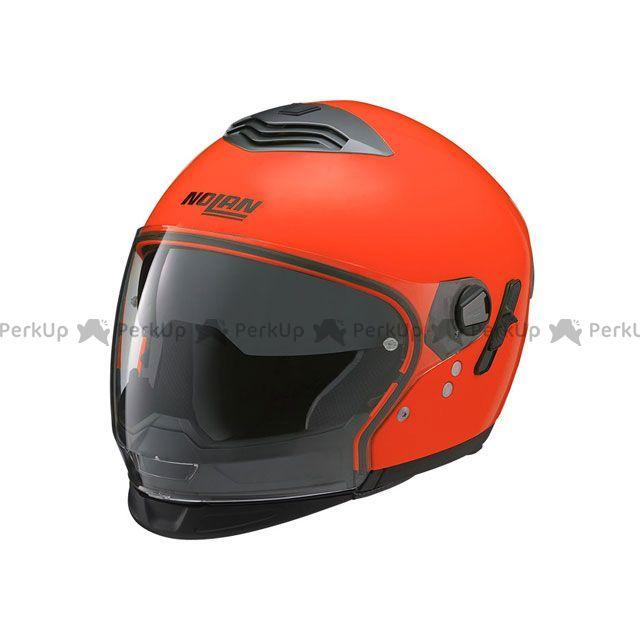 送料無料 NOLAN ノーラン システムヘルメット(フリップアップ) N43E Trilogy ハイビィジビリティ 蛍光オレンジ/13 XL/61-62cm