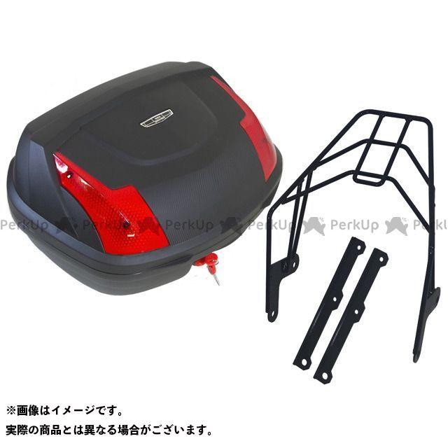 【特価品】WW SR400 ツーリング用ボックス SR400用リアキャリア リアボックスセット 容量:48リッター ワールドウォーク