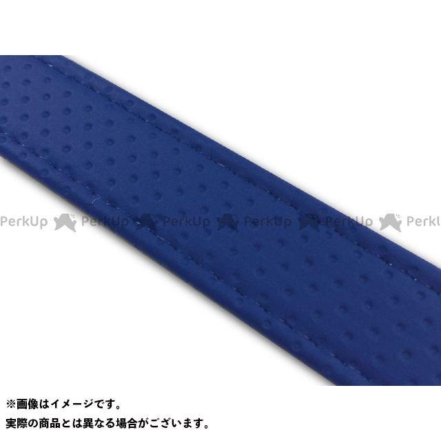 グロンドマン Grondement シート関連パーツ 外装 エントリーで最大P19倍 汎用レザーベルト 上品 汎用 タンデムベルト等 長さ:78cm おすすめ特集 カラー:エンボスブルー