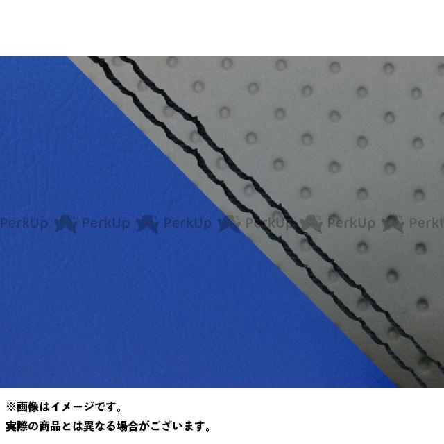 Grondement MT-09 シート関連パーツ MT-09/FZ-09 国産シートカバー エンボス灰&青 タイプ:張替 仕様:黒ダブルステッチ グロンドマン