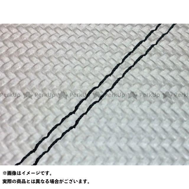 Grondement MT-09 シート関連パーツ MT-09/FZ-09 国産シートカバー カーボン銀 タイプ:張替 仕様:黒ダブルステッチ グロンドマン