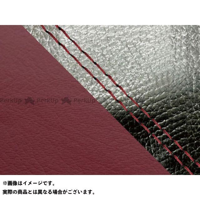 Grondement MT-09 シート関連パーツ MT-09/FZ-09 国産シートカバー 黒&ワインレッド タイプ:張替 仕様:赤ダブルステッチ グロンドマン