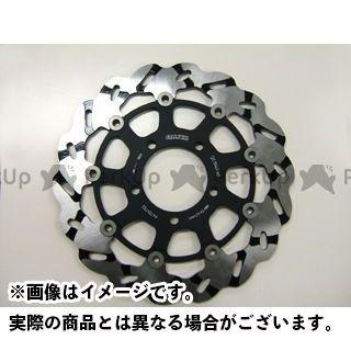 送料無料 GALFER GSX-R1000 ディスク グルーブローター フローティング φ310 フロント/右