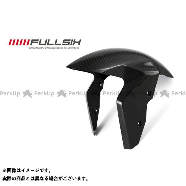 FULLSIX S1000RR フェンダー フロントフェンダー コーティング:クリアコート(艶あり) カーボン繊維の種類:200Plain 平織り フルシックス
