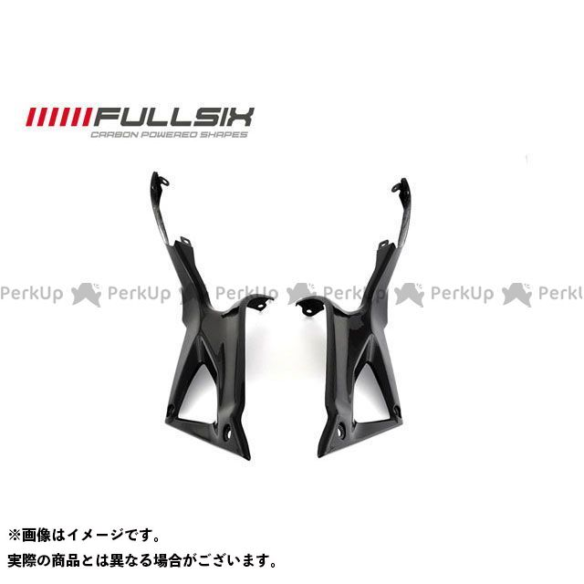 FULLSIX 1098 1198 848 カウル・エアロ アンダータンクサイドパネル コーティング:クリアコート(艶あり) カーボン繊維の種類:245Twill 綾織り フルシックス