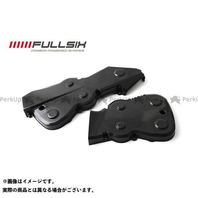 FULLSIX 1098 1198 848 ドレスアップ・カバー タイミングベルトカバーセット コーティング:マットコート(艶なし) カーボン繊維の種類:200Plain 平織り フルシックス