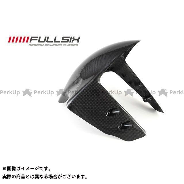 FULLSIX 1199パニガーレ フェンダー フロントフェンダー コーティング:クリアコート(艶あり) カーボン繊維の種類:200Plain 平織り フルシックス