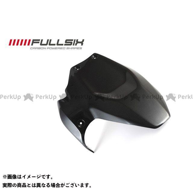 FULLSIX 1199パニガーレ フェンダー リアフェンダー ショート コーティング:クリアコート(艶あり) カーボン繊維の種類:200Plain 平織り フルシックス