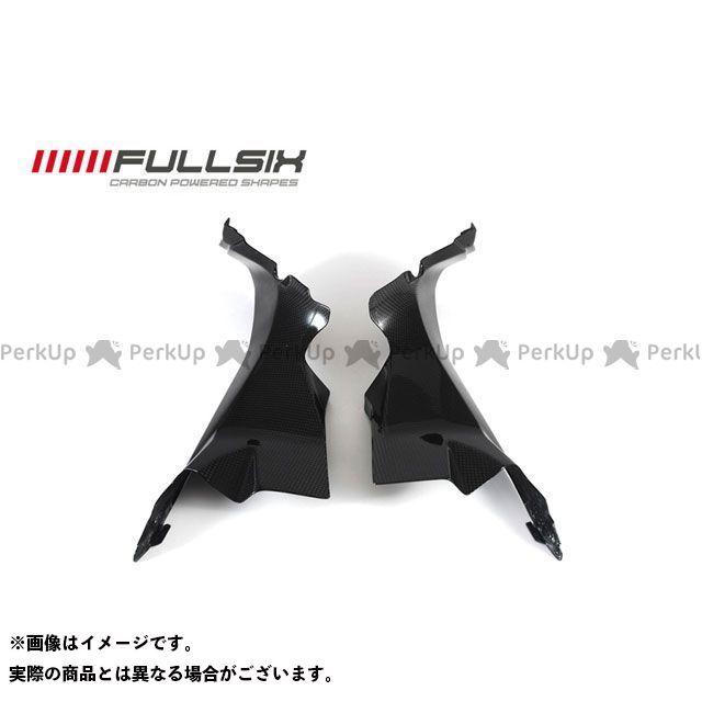 フルシックス カーボン繊維の種類:245Twill コーティング:マットコート(艶なし) エアチューブカバー 純正形状 綾織り ドレスアップ・カバー 1199パニガーレ FULLSIX