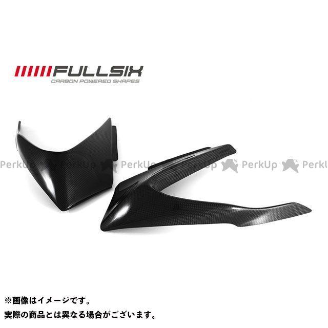 FULLSIX 1199パニガーレ カウル・エアロ アッパーカウルエアロキット コーティング:クリアコート(艶あり) カーボン繊維の種類:200Plain 平織り フルシックス