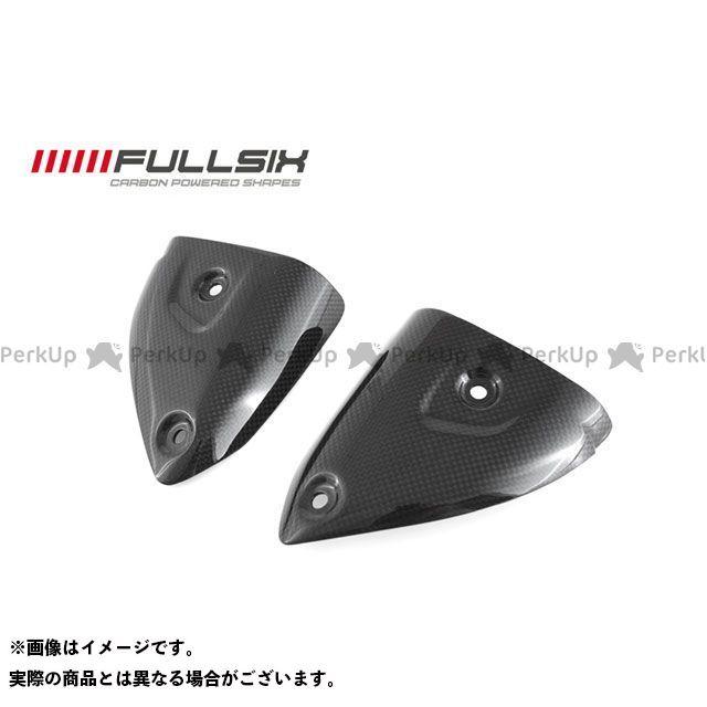 FULLSIX 1199パニガーレ マフラーカバー・ヒートガード サイレンサープロテクター TERMIGNONIマフラー用 コーティング:クリアコート(艶あり) カーボン繊維の種類:200Plain 平織り フルシックス
