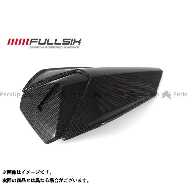 FULLSIX 1199パニガーレ カウル・エアロ シングルシート 純正パッド装着可タイプ コーティング:クリアコート(艶あり) カーボン繊維の種類:200Plain 平織り フルシックス