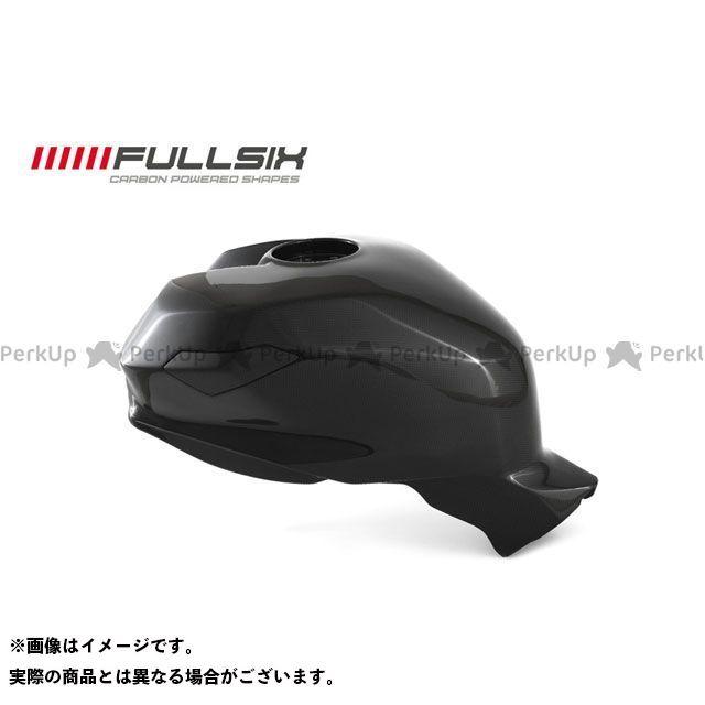 FULLSIX 1199パニガーレ タンク関連パーツ カーボンモノコックフューエルタンク オーバーサイズ25L クリアコート(艶あり) 200Plain 平織り フルシックス