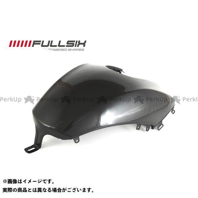 FULLSIX ディアベル タンク関連パーツ タンクカバー 下側 コーティング:クリアコート(艶あり) カーボン繊維の種類:200Plain 平織り フルシックス
