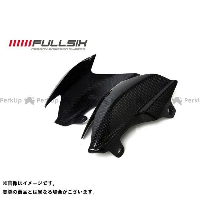 FULLSIX ハイパーモタード その他 カウル・エアロ リアサイドパネル コーティング:マットコート(艶なし) カーボン繊維の種類:200Plain 平織り フルシックス
