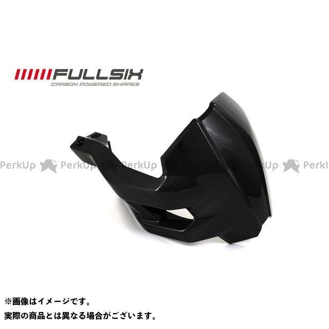 FULLSIX ムルティストラーダ1200 ドレスアップ・カバー リアスプラッシュガード コーティング:クリアコート(艶あり) カーボン繊維の種類:245Twill 綾織り フルシックス