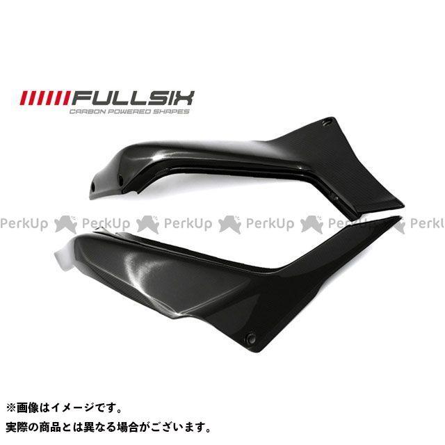 FULLSIX ムルティストラーダ1200 カウル・エアロ リアサイドパネルセット コーティング:クリアコート(艶あり) カーボン繊維の種類:245Twill 綾織り フルシックス