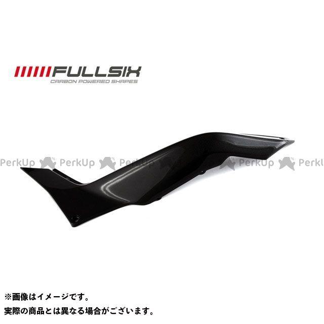 FULLSIX ムルティストラーダ1200 カウル・エアロ リアサイドパネル 左側 コーティング:クリアコート(艶あり) カーボン繊維の種類:200Plain 平織り フルシックス