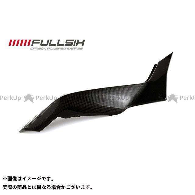 FULLSIX ムルティストラーダ1200 カウル・エアロ リアサイドパネル 右側 コーティング:クリアコート(艶あり) カーボン繊維の種類:200Plain 平織り フルシックス