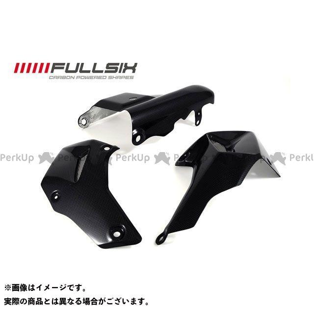 FULLSIX ムルティストラーダ1200 ドレスアップ・カバー ベリーカバーSTRADAセット コーティング:クリアコート(艶あり) カーボン繊維の種類:245Twill 綾織り フルシックス