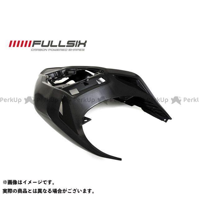 FULLSIX ストリートファイター カウル・エアロ シートカウル 純正形状 コーティング:マットコート(艶なし) カーボン繊維の種類:200Plain 平織り フルシックス