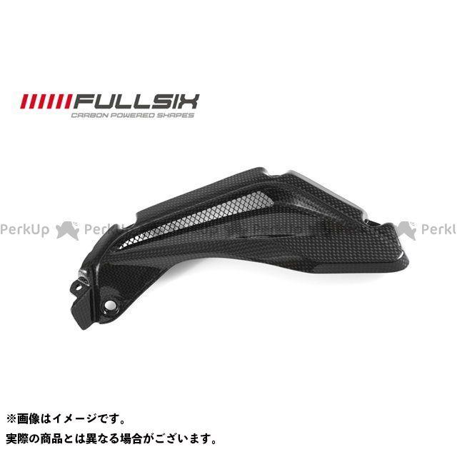 FULLSIX F3 675 F3 800 カウル・エアロ サイドパネルエアエクストラクター 左側 コーティング:クリアコート(艶あり) カーボン繊維の種類:245Twill 綾織り フルシックス