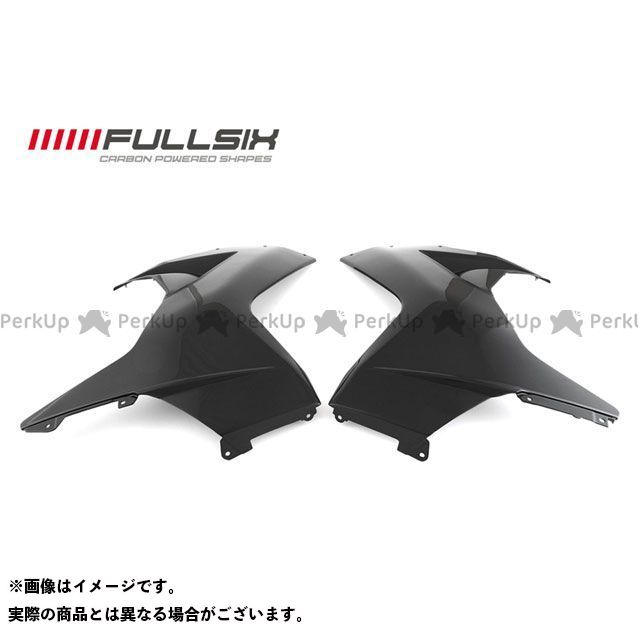FULLSIX F3 675 F3 800 カウル・エアロ フロントサイドカウル左右セット コーティング:クリアコート(艶あり) カーボン繊維の種類:245Twill 綾織り フルシックス