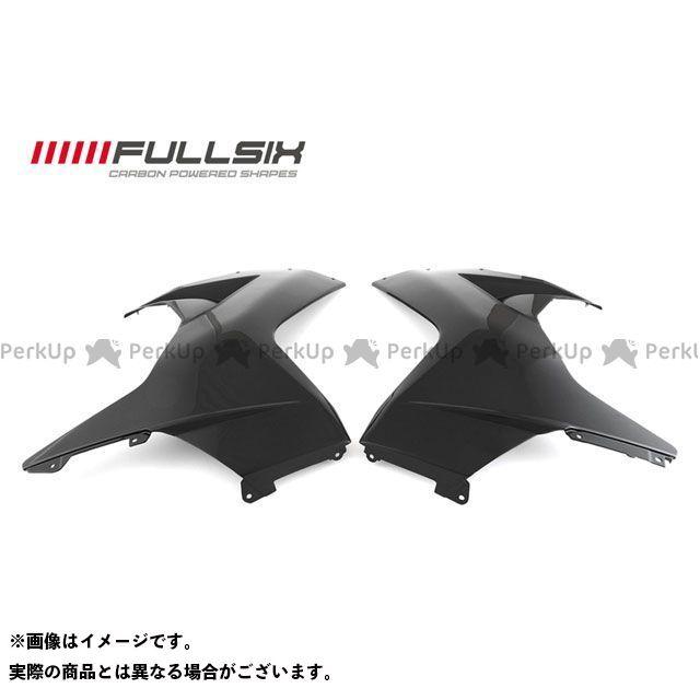 FULLSIX F3 675 F3 800 カウル・エアロ フロントサイドカウル左右セット コーティング:クリアコート(艶あり) カーボン繊維の種類:200Plain 平織り フルシックス