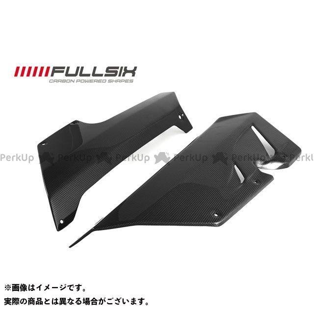 FULLSIX F3 675 F3 800 カウル・エアロ アンダーカウル コーティング:クリアコート(艶あり) カーボン繊維の種類:200Plain 平織り フルシックス