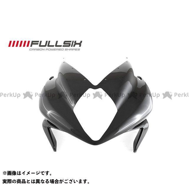FULLSIX F3 675 F3 800 カウル・エアロ アッパーカウル コーティング:クリアコート(艶あり) カーボン繊維の種類:200Plain 平織り フルシックス