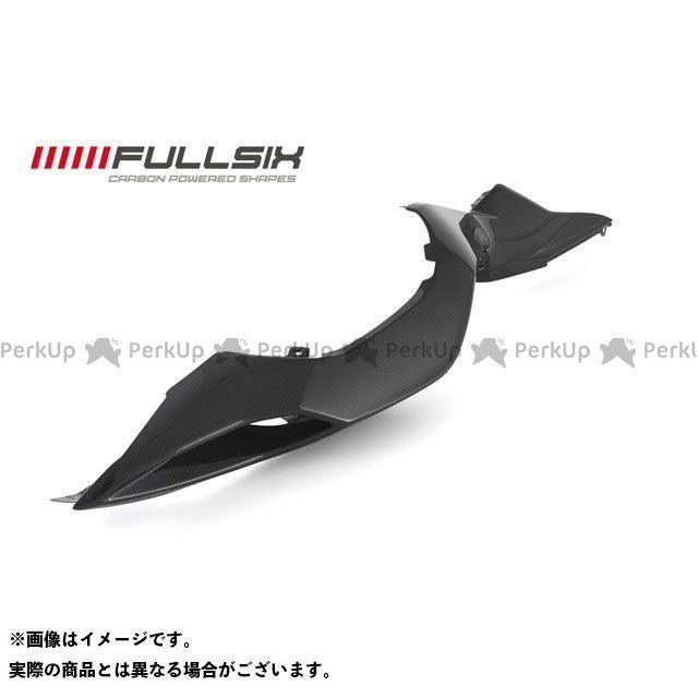 FULLSIX F3 675 F3 800 カウル・エアロ シートサイドカウル 左側 コーティング:クリアコート(艶あり) カーボン繊維の種類:200Plain 平織り フルシックス