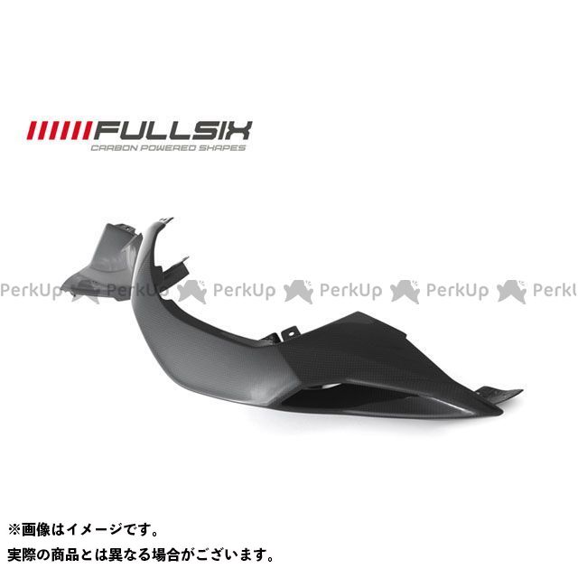 FULLSIX F3 675 F3 800 カウル・エアロ シートサイドカウル 右側 コーティング:クリアコート(艶あり) カーボン繊維の種類:200Plain 平織り フルシックス