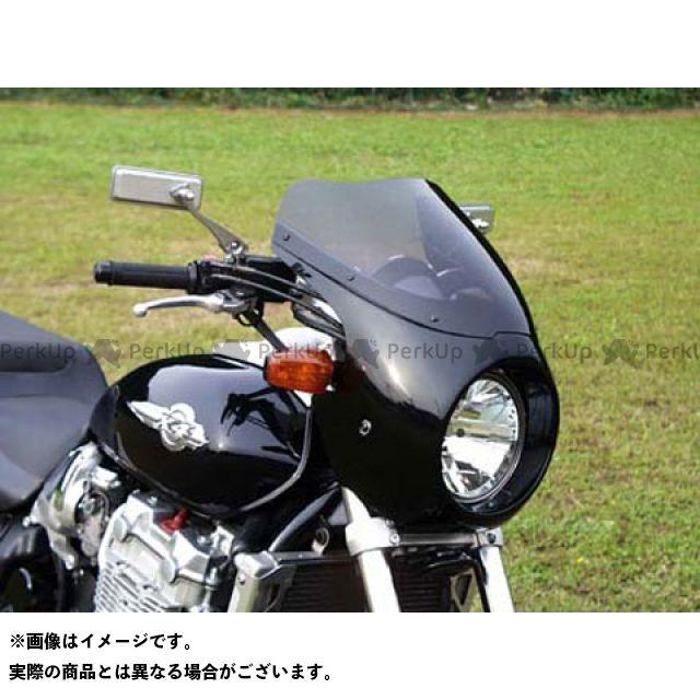 GULL CRAFT エックスフォー カウル・エアロ ブレットビキニ タイプC(スモーク) カウルカラー:パールプリズムブラック NH-418P ガルクラフト