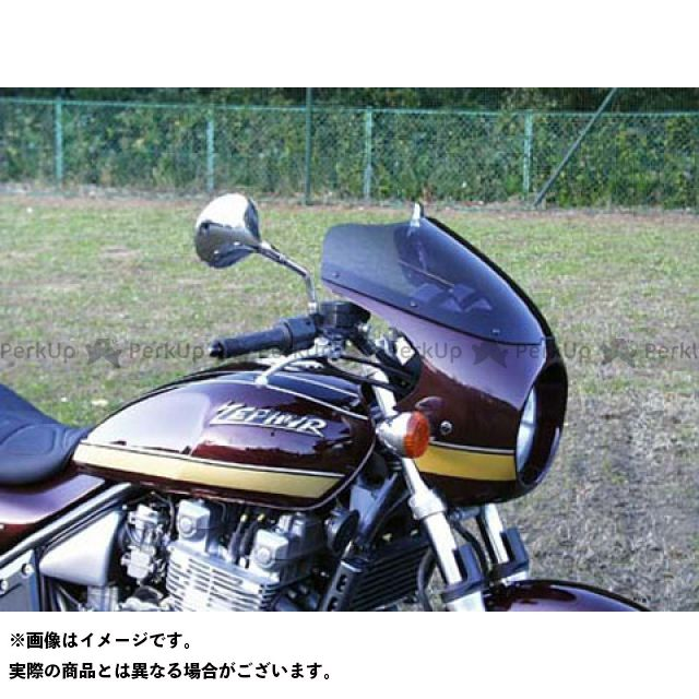 GULL CRAFT ゼファー1100 カウル・エアロ ブレットビキニ タイプC(スモーク) メタリックスパークブラック/ストライプ ガルクラフト