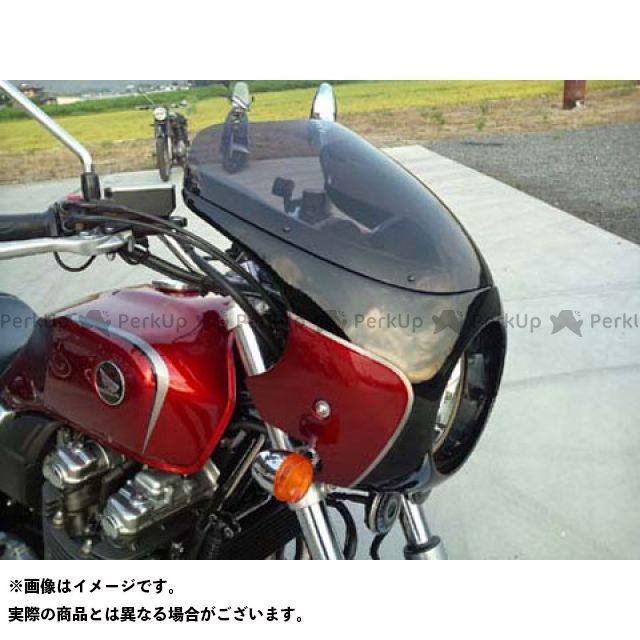 GULL CRAFT CB1100 カウル・エアロ ブレットビキニ タイプC(スモーク) カウルカラー:ダークネスブラックメタリック ガルクラフト