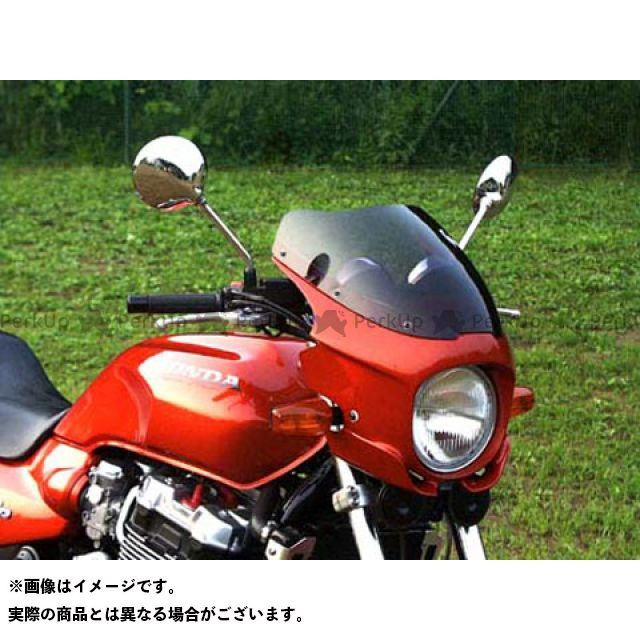 GULL CRAFT CB1300スーパーフォア(CB1300SF) カウル・エアロ ブレットビキニ タイプS(スモーク) カウルカラー:パールフェイドレスホワイト/キャンディーアラモアナレッド ガルクラフト