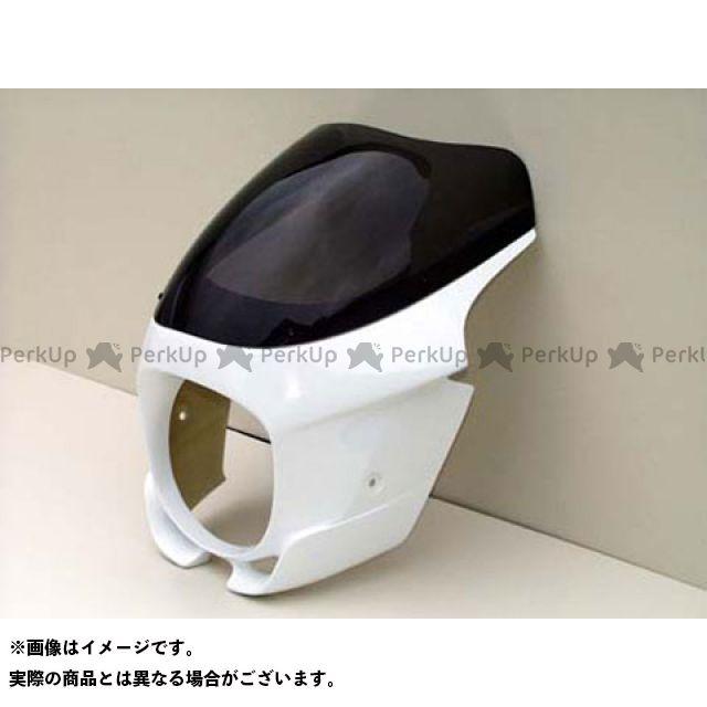 GULL CRAFT ゼファー1100 カウル・エアロ ブレットビキニ タイプS 白ゲル(スモーク) ガルクラフト