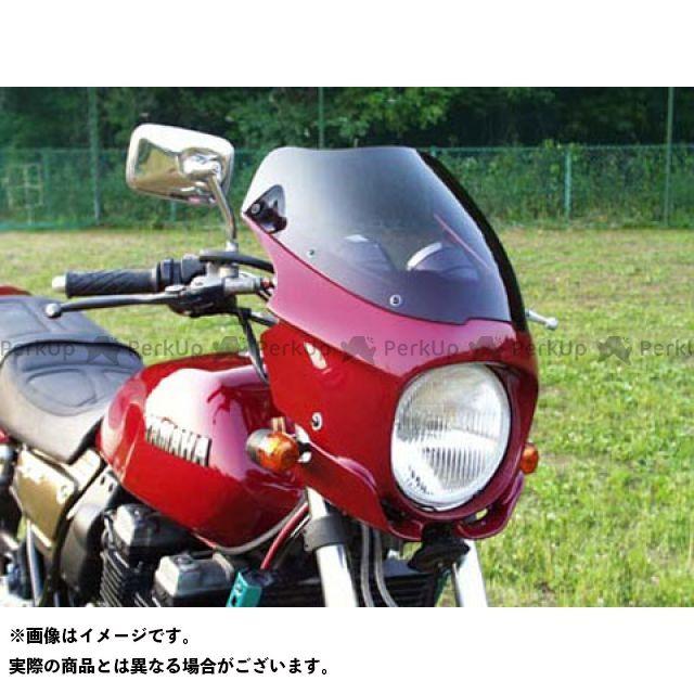 GULL CRAFT XJR400 カウル・エアロ ブレットビキニ タイプS(スモーク) カウルカラー:白ゲル ガルクラフト