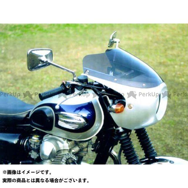 GULL CRAFT W650 カウル・エアロ ブレットビキニ タイプR(スモーク) カウルカラー:白ゲル ガルクラフト