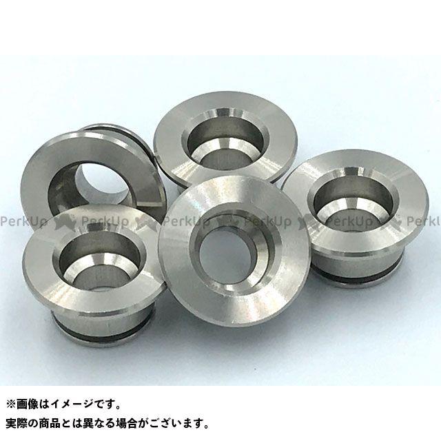 プラスミュー PLUSμ ディスク アルミフローティングピン 16.25mm ステンレス 12個セット