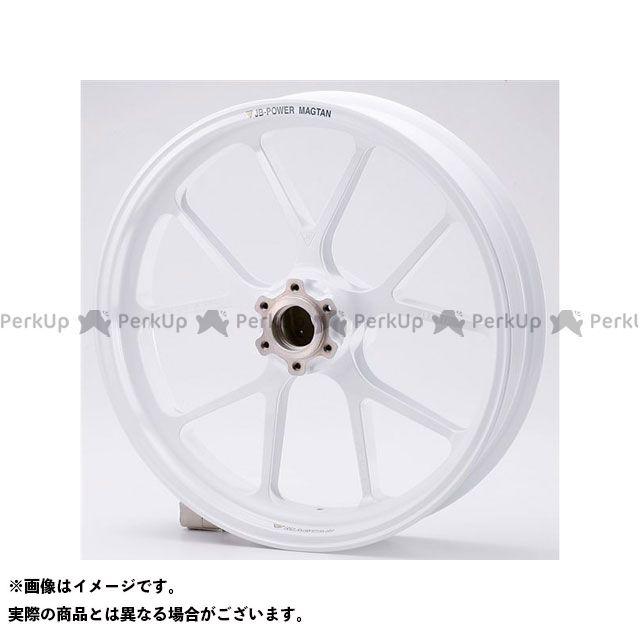【エントリーで最大P23倍】BITO R&D SRX400(SRX-4) SRX600(SRX-6) ホイール本体 マグネシウム鍛造ホイール セット MAGTAN JB3 フロント:3.00-17/リア:4.00-17 カラー:ホワイト ビトーR&D
