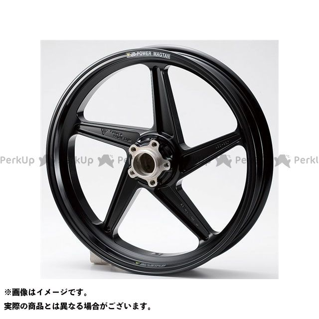 BITO R&D GSX-R1000 ホイール本体 マグネシウム鍛造ホイール セット MAGTAN JB2 フロント:3.50-17/リア:6.00-17 カラー:ブラック ビトーR&D