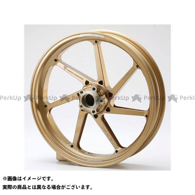 【エントリーで最大P23倍】BITO R&D GS1200SS ホイール本体 マグネシウム鍛造ホイール セット MAGTAN JB4 フロント:3.50-17/リア:5.50-17 カラー:ゴールド ビトーR&D