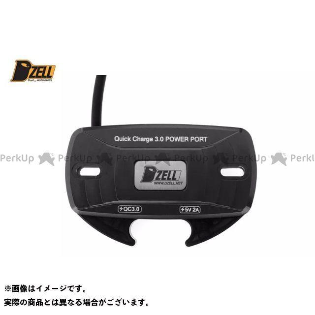 【エントリーで更にP5倍】DZELL その他電装パーツ Dzell USB Twoポート カラー:ブラック ディーゼル